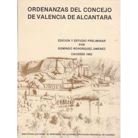 Ordenanzas del Concejo de Valencia de Alcántara