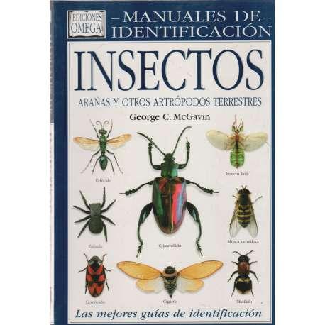 Manuales de identificación. Insectos, arañas y otros artrópodos terrestres