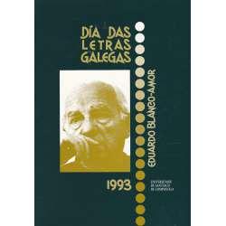 Día das letras galegas 1993. Eduardo Blanco Amor