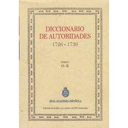 Diccionario de autoridades 1726-1739. Tomo V