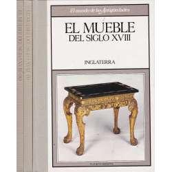 El mundo de las Antigüedades. El mueble del siglo XVIII. 3 Tomos