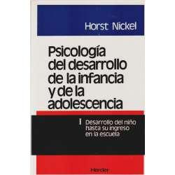 Psicología del desarrollo de la infancia y de la adolescencia. Tomo I