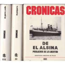 Crónicas. 3 Tomos