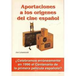Aportaciones a los orígenes del cine español