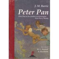 Peter Pan. Peter Pan en los jardines de Kesington. Peter Pan y Wendy