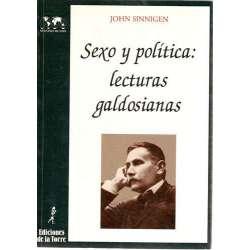 SEXO Y POLÍTICA: LECTURAS GALDOSIANAS.