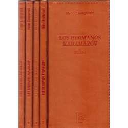 Los hermanos Karamazov. 5 Tomos