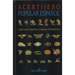 Acertijero popular español