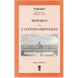 MEMORIAS (Traducción de Manuel Azaña) / 3 CUENTOS ORIENTALES (Traducción de Abate Marchena).