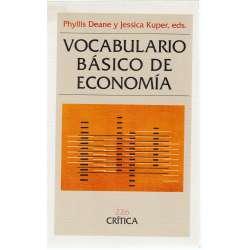 VOCABULARIO BÁSICO DE ECONOMÍA.