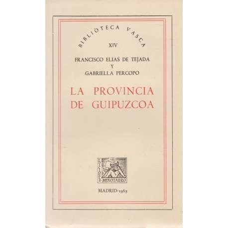 LA PROVINCIA DE GUIPÚZCOA.