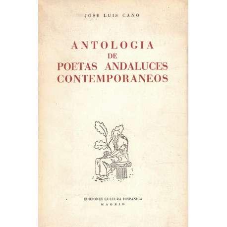 ANTOLOGÍA DE POETAS ANDALUCES CONTEMPORÁNEOS.