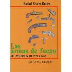 Las armas de fuego. Su evolución de 1775 a 1900