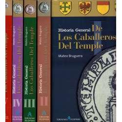 Historia General de Los Caballeros del Temple. 5 tomos