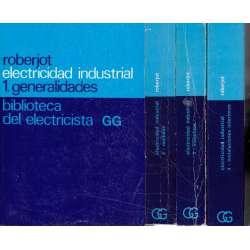 Electricidad industrial. IV Tomos