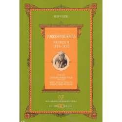 Correspondencia. Volumen VI.- 1895-1899