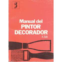 MANUAL DEL PINTOR DECORADOR.