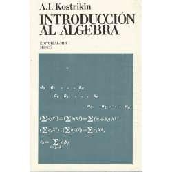 Introducción al álgebra