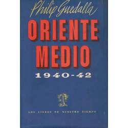 ORIENTE MEDIO 1940 - 1942. Un estudio sobre la guerra en el aire