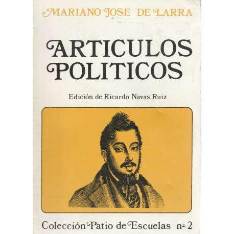 ARTÍCULOS POLÍTICOS.