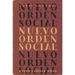 NUEVO ORDEN SOCIAL.