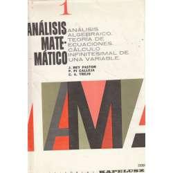INTRODUCCIÓN AL ANÁLISIS MATEMÁTICO.