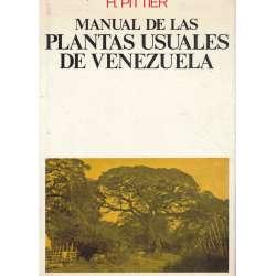 Manual de las plantas usuales de Venezuela