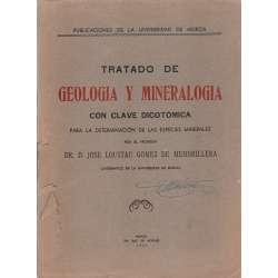 Tratado de geología y mineralogía con clave dicotómica para la determinación de las especies minerales