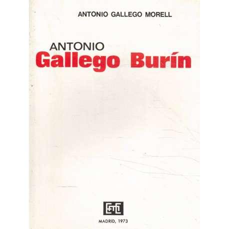 ANTONIO GALLEGO BURÍN 1895-1961
