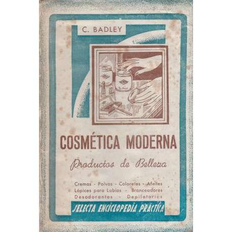 COSMÉTICA MODERNA. Productos de belleza.