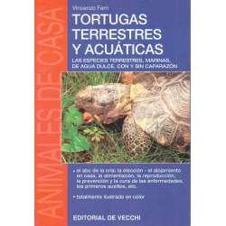 Tortugas terrestres y acuáticas. Las especies terrestres,marinas,de agua dulce,con y sin caparazón