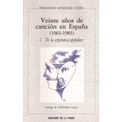 VEINTE AÑOS DE CANCIÓN ESPAÑOLA (1963-1983).