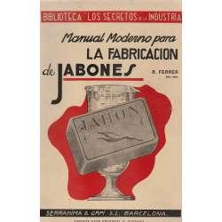 Manual moderno para la fabricación de jabones