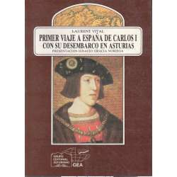 Primer viaje a España de Carlos I con su desembarco en Asturias