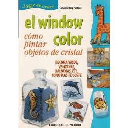 EL WINDOW COLOR. Cómo pintar objetos de cristal.