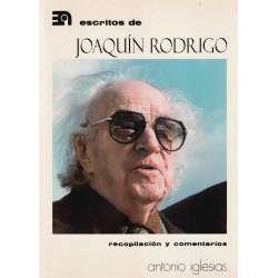 ESCRITOS DE JOAQUÍN RODRÍGO.