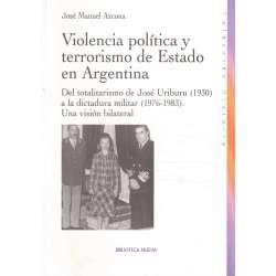 Violencia política y terrorismo de Estado en Argentina