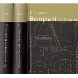Diccionario Bompiani de Autores. 3 tomos