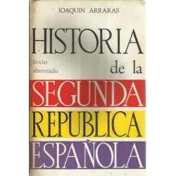 HISTORIA DE LA SEGUNDA REPÚBLICA ESPAÑOLA