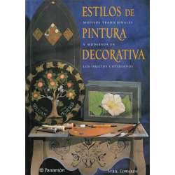 Estilos de pintura decorativa. Motivos tradicionales y modernos en los objetos cotidianos