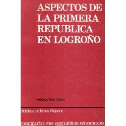 Aspectos de la Primera República en Logroño