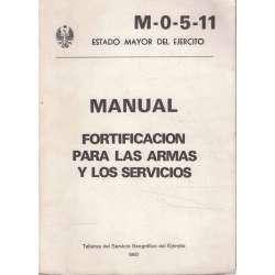 Manual. Fortificación para las armas y los servicios