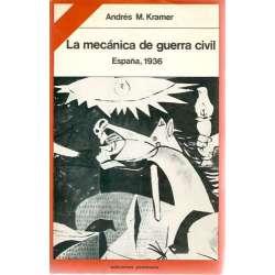 La mecánica de la Guerra Civil. España, 1936