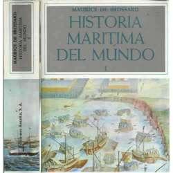 HISTORIA MARÍTIMA DEL MUNDO 2 tomos