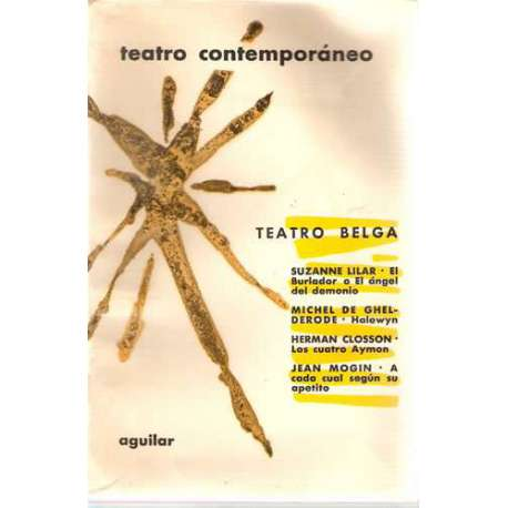 TEATRO BELGA CONTEMPORÁNEO