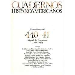 CUADERNOS HISPANOAMERICANOS: MIGUEL DE UNAMUNO (1864-1936).