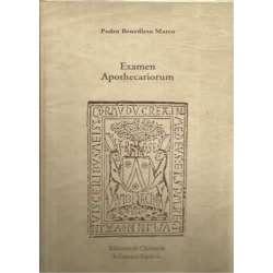 Examen Apothecariorum. Facsímil de la edicion de 1521. Clásicos de farmacia