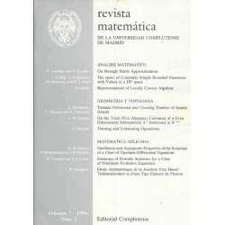 Revista matemática de la Universidad Complutense de Madrid