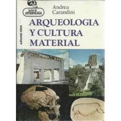 ARQUEOLOGÍA Y CULTURA MATERIAL