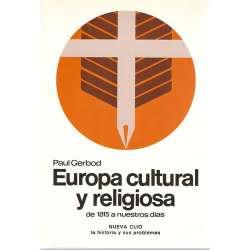 EUROPA CULTURAL Y RELIGIOSA de 1815 a nuestros días.